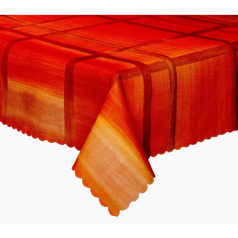 Forbyt, Ubrus s nešpinivou úpravou Mřížka, hnědý 50 x 100 cm