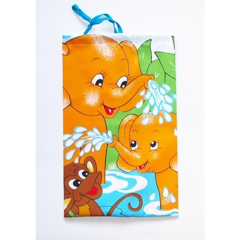 Forbyt Pytlík na přezůvky, Sloni oranžoví