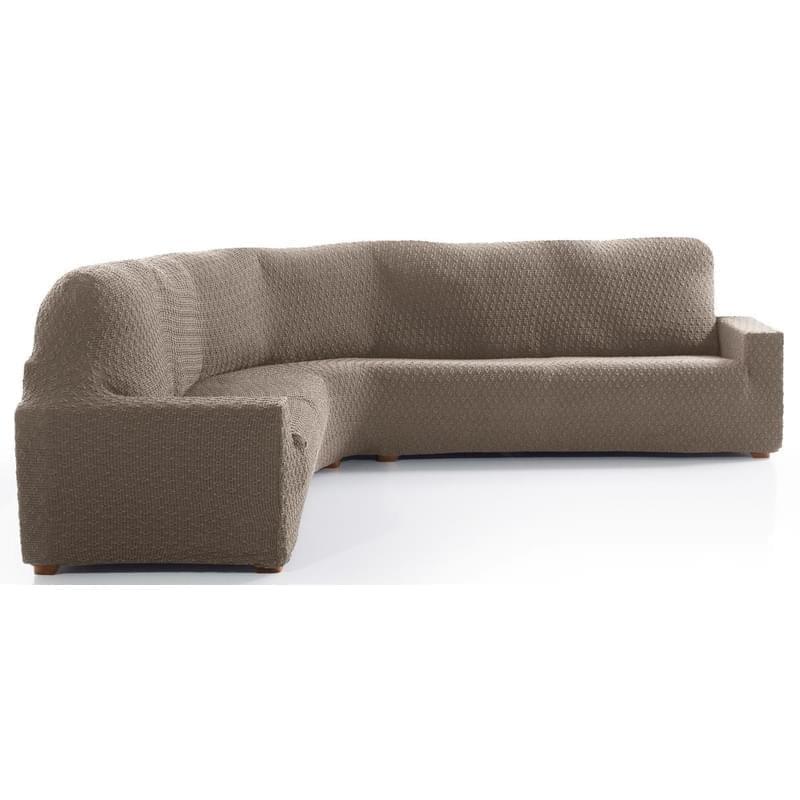Forbyt, Potah multielastický na rohovu sedačku, MARTIN, béžový