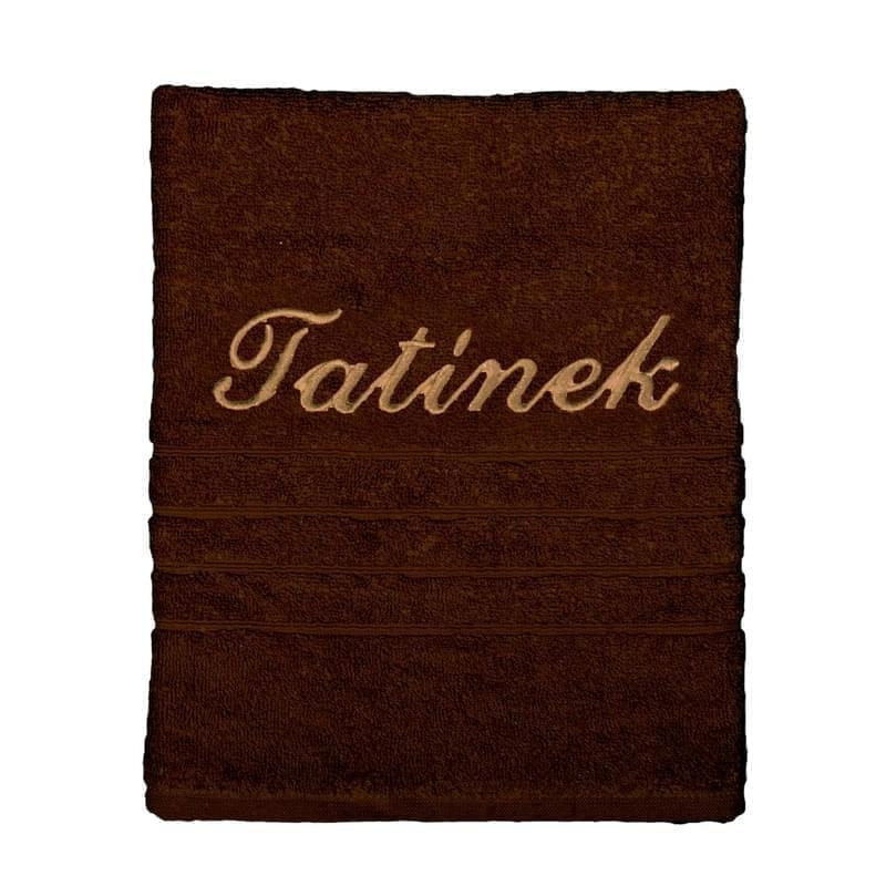 Forbyt, Dárkový ručník, Tatínek, hnědý