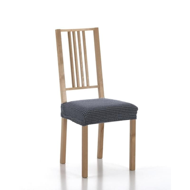 Forbyt, Potah elastický na sedák židle, SADA komplet 2 ks, modrý