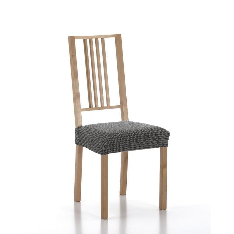 Forbyt, Potah elastický na sedák židle, SADA komplet 2 ks, šedý