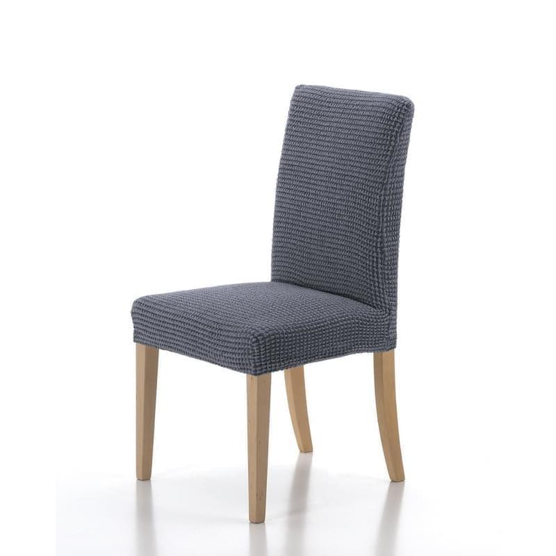 Forbyt, Potah elastický na celou židli, komplet 2 ks SADA, modrý