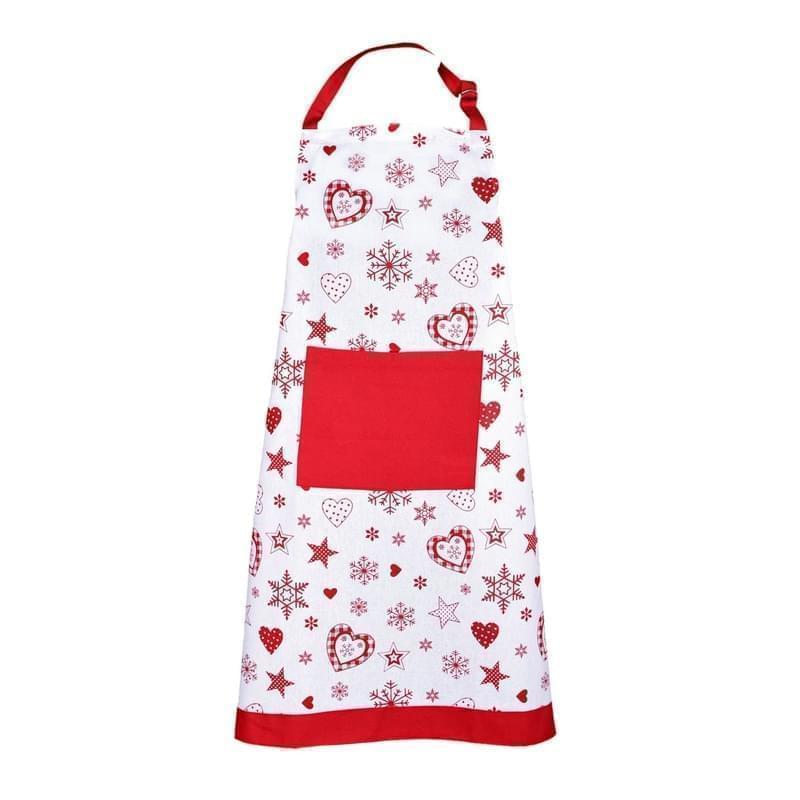 Forbyt, Zástěra kuchyňská, Vánoční, červená