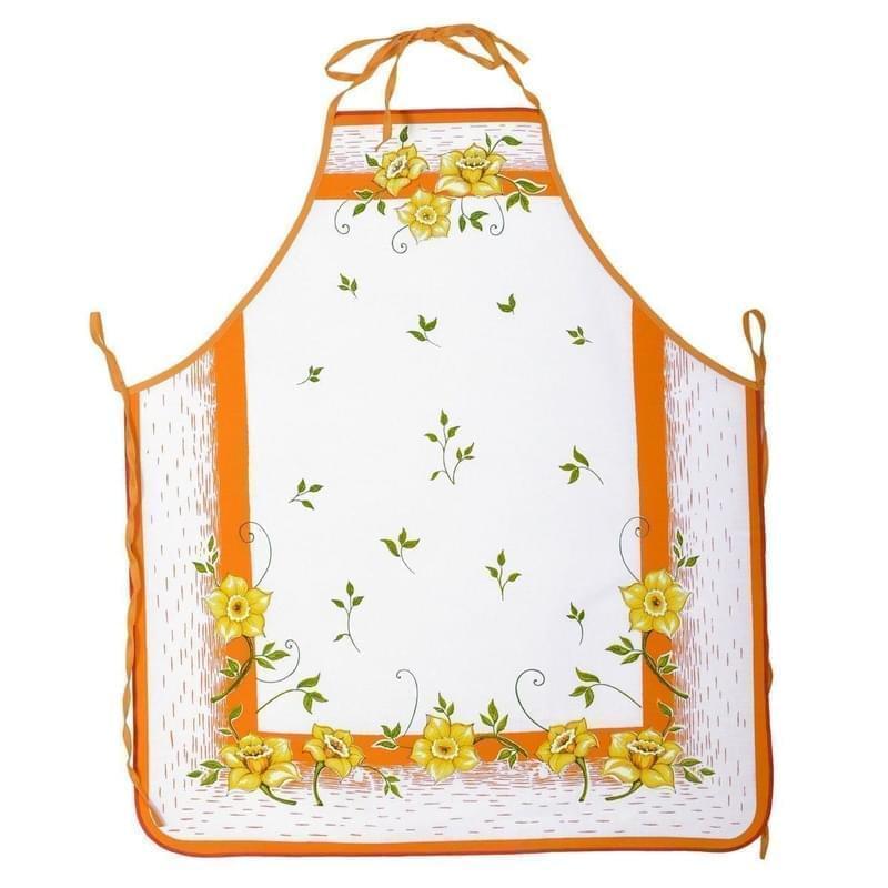 Forbyt, Zástěra kuchyňská, Narcise, oranžová