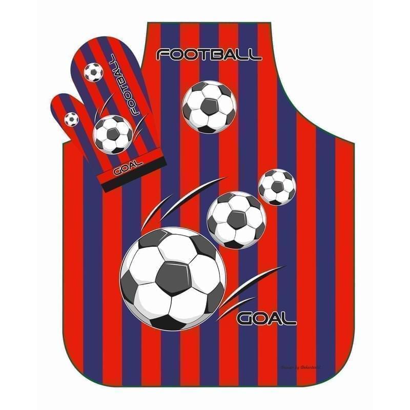 Forbyt, Zástěra, Fotbal červeno-modrá dvojkombinace