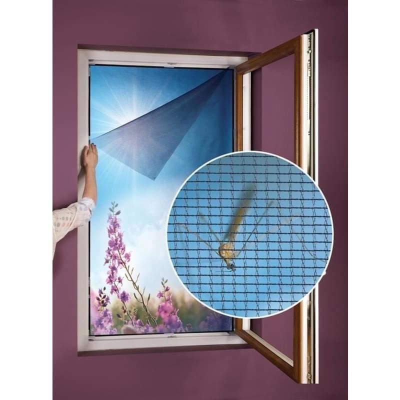 Síť do okna proti hmyzu a pylu 55 x 150 cm