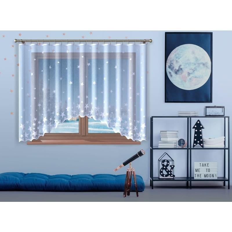 Forbyt, Hotová záclona, Linda, bílá 300 x 140 cm